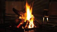 【1日2組限定/2食付き】タープ付きだから雨でもOK!BBQ×焚き火プラン