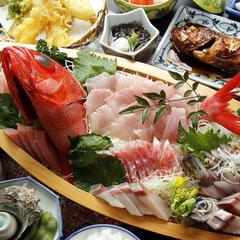 【伊勢海老orアワビ】×地魚姿造り舟盛付で大満足!![1泊2食]