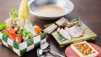 【基本プラン】海の厳選食材で贅を極めた『淡路島の濃厚うに鍋』を堪能(夕朝食付)
