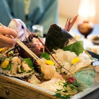 【イチゴ狩り体験】【個室料亭食】イチゴ食べ放題と海幸三昧の会席料理で満腹プラン♪