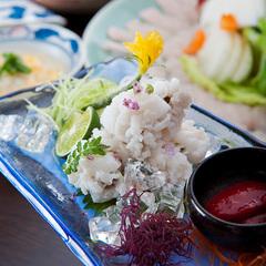 【お食事処で楽しむ】淡路島の旬の味覚を堪能♪淡路産はも鍋と鯛の活造り会席☆