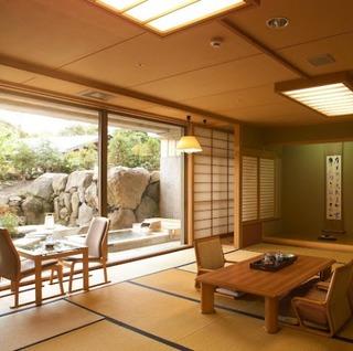 庭園露天風呂付特別室72平米【禁煙】(和室or和洋室)