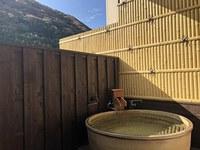 【禁煙】露天風呂付客室陶器