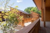 【限定】♪国産杉のログハウス♪素泊まり♪禁煙♪富士山麓ひのき樽風呂(110㎡ペット不可)