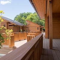 国産杉ログハウス♪素泊まり♪禁煙♪富士山麓ひのき樽風呂♪110平米♪【ペット不可】