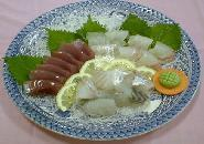 【現金特価】  当館一押し朝獲れ地魚お造りの海御膳 瀬戸路