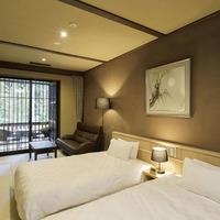 【檜風呂+テラス付き】寛ぎ和室&和室ツインルーム