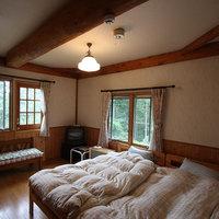 【朝食付】ゆったりログハウスで過ごす グリーンシーズンペンションプラン。ペット同宿OK