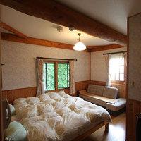 【素泊】木のぬくもりに包まれたログハウスタイプで過ごす、ペット同伴お気軽素泊ペンションプラン。