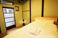 築100年の日本家屋 ダブルベッドルーム