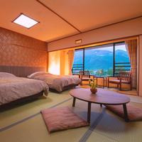 ◆洋風和室 由布岳ビュー◆季節ごとの彩りと風〈25平米〉