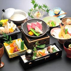 【味覚】◇会場食◇ 料理長自慢の会席と信州産黒牛を堪能!