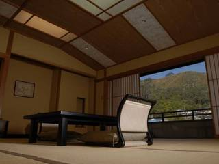 禁煙 最上階貸切12.5畳+15畳特別室 -専用風呂付き