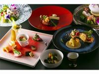 お部屋壱番 【旬の食材を使った創作会席料理でおもてなし】 六花スタンダード プラン