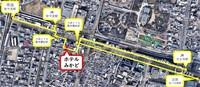 【1泊限定】JR新今宮駅は徒歩3分、南海新今宮駅は「走って」3分、動物園前駅まで徒歩1分の駅近ホテル