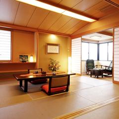 【お部屋食】特別角部屋『萩スイート』12畳+6畳+ゆとりの間