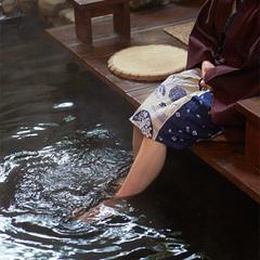 人気の『露天風呂付き客室』で一晩中美肌湯の温泉を独り占め♪