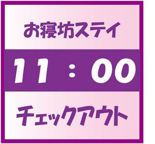 スタンダードプラン【15時IN・11時OUT 】