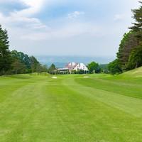 【素泊まり】絶景を眺めながらの爽快ショット♪ゴルフプレー券付◆ラグジュアリーロッジ