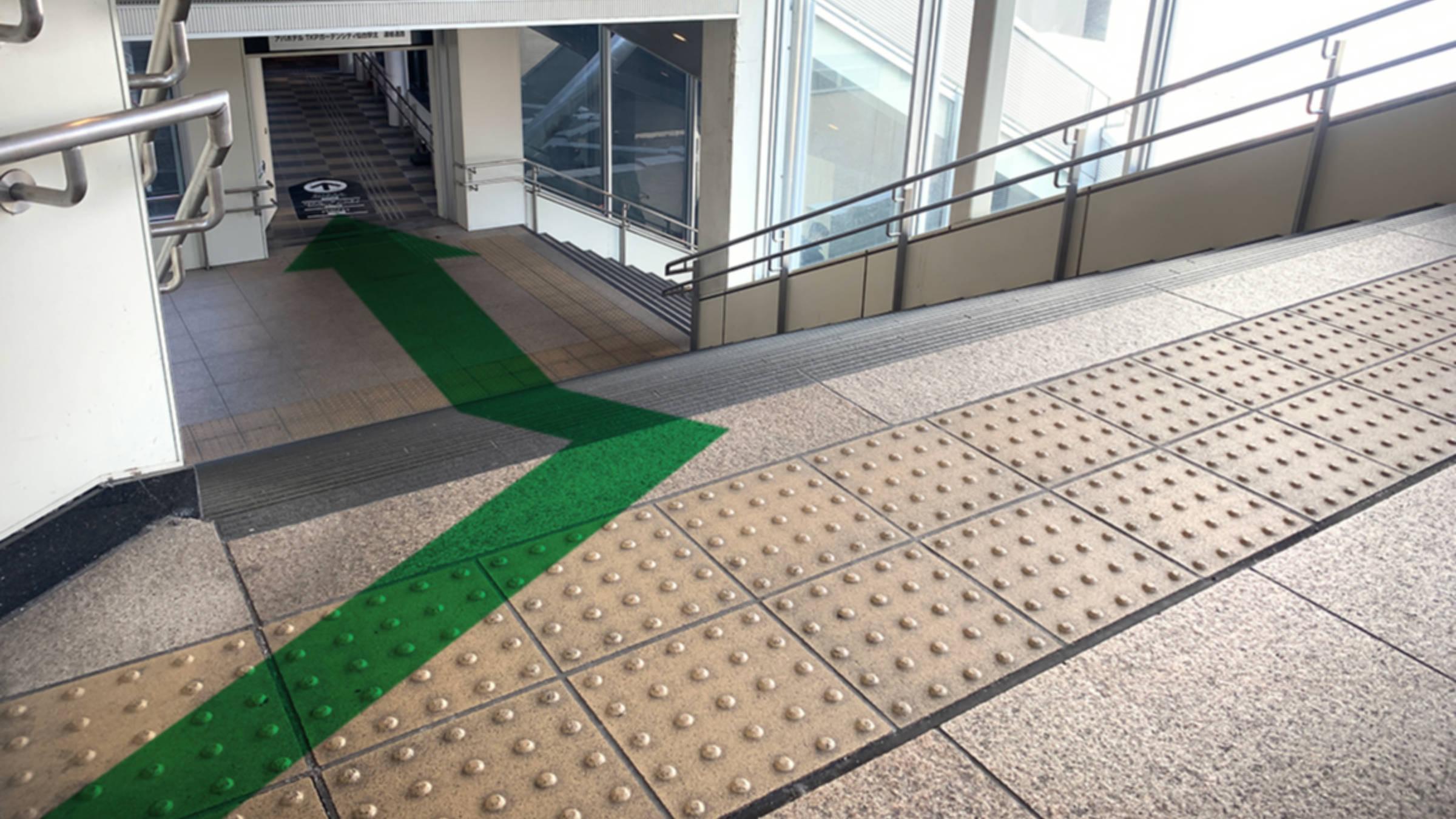 仙台駅西口からのアクセス⑤