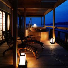 【アニバーサリーフロア】露天風呂付き和洋室