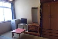 2〜3名様の和室にお布団のお部屋です。