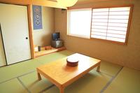 和室8畳/洗面・トイレ付き 藤 黒潮 渚