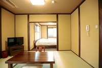 【杜若】快適ベッドと居室でゆったり♪和モダンルーム(禁煙)