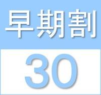 【早期割30】30日前のご予約でお得プラン 素泊まり <2019年3月28日OPEN>