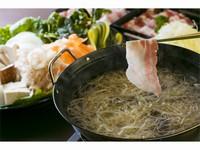 【露天風呂付客室】黒豚しゃぶしゃぶ付懐石 季節野菜も盛り沢山プラン