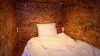 女性専用ドミトリーHACO.(相部屋)シングルベッドの上段
