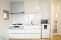 【さき楽28】1フロア1部屋限定のプライベート空間・キッチン、洗濯機完備:返金不可