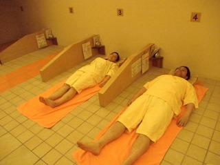 【陶板浴ゆらく】でゆっくり〜リラックス〜