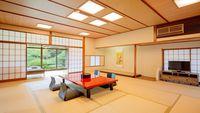 【離れ客室に泊まる】日本庭園内離れ「松月亭」ご宿泊!個室での夕食付プラン/2食付