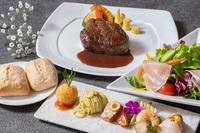 【2食付】お手軽に旨味たっぷりの牛赤身ステーキを味わうカジュアルプラン