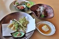 【旬菜爛漫】自然の恵みを味わう山菜づくし満腹ディナー+ご朝食(2食付)