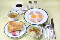 「朝食付き」しっかり朝食・洋朝食付きシングルプラン
