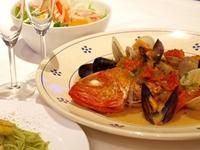 【2泊4食付 】 連泊でお得に!イタリアン&和食 ダブル満喫プラン
