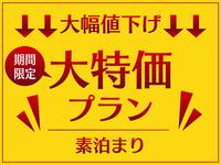 【禁煙のシングル部屋限定プラン】2,700円ポッキリ♪【素泊り】
