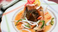 【二食付き◆定番料理】コラーゲンたっぷりの鯉料理と温泉で美肌ダブル効果♪