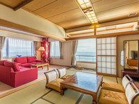 Jrスイートルーム「和室10畳+ベッドルーム」☆海一望