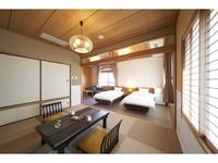 2階 大島を臨む和洋室(4名定員・バス付)