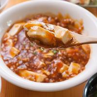 《白金豚ひき肉の辛みをおさえた麻婆豆腐セット》1泊2食付きプラン