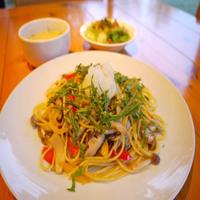 【新登場】ポン酢でさっぱり♪和風きのこスパゲッティーセット1泊2食付プラン