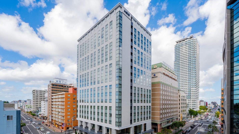 【楽パックSALE】◆素泊り◆札幌駅から徒歩3分!大浴場などの館内施設も充実!