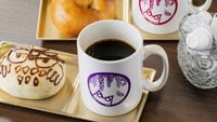 【Cafe軽朝食付】通常11:00→13:00までご滞在OK。お昼までゆったりレイトチェックアウト。