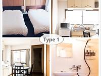★大阪下町で暮らすように泊まる★アパートメント型ホテル♪旅行・ビジネス・お試し同棲にも◎20平米〜