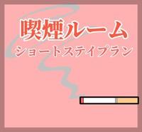 【素泊り】ご愛煙家のお客様におすすめ♪ショートステイプラン!【室数限定】