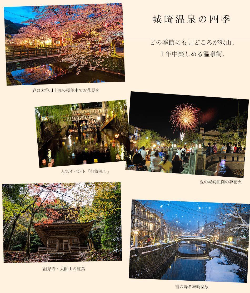 城崎温泉の四季