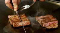 黒毛和牛と肉厚な新鮮アワビを堪能!鉄板ディナー付プラン【夕食のみ】